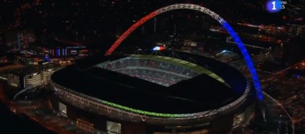 Wembley se tiñe con los colores de Francia