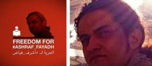 Ashraf Fayad il poeta condannato a morte