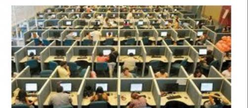 Cassa integrazione per i dipendenti di call center