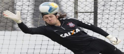 Cássio volta ao gol do Corinthians nesta quinta