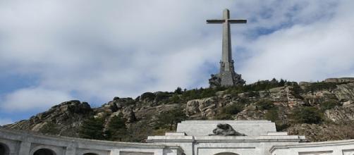 El Valle de los caídos en Madrid.