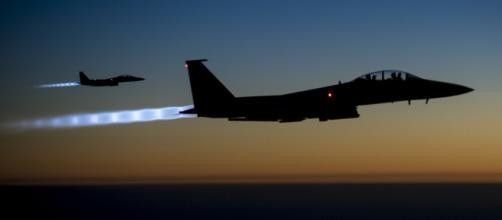 Fuerzas aéreas de EE.UU sobre Irak en 2014