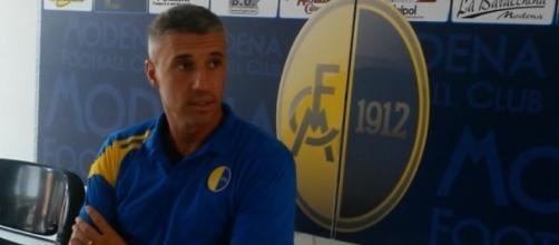 Hernan Crespo, allenatore del Modena