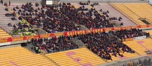 I tifosi del Lecce seguiranno la squadra a Matera.