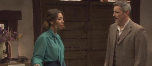 Il Segreto: Alfonso ed Emilia, ai ferri corti