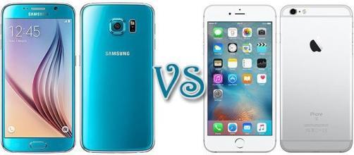 Samsung Galaxy S6 vs Apple Iphone 6s