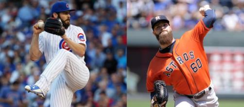 The 2015 CY Young winners for the NL and AL