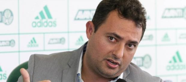 Alexandre Mattos, executivo de futebol do Verdão