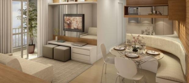 Dicas e truques para decorar apartamento pequeno