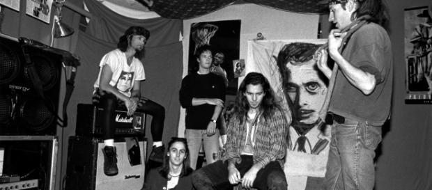 Formação original do Pearl Jam, em 1991
