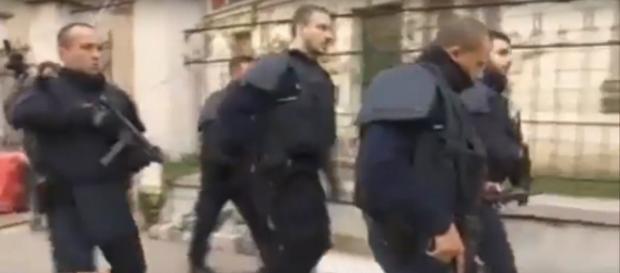 Imágen del asalto en Saint-Denis