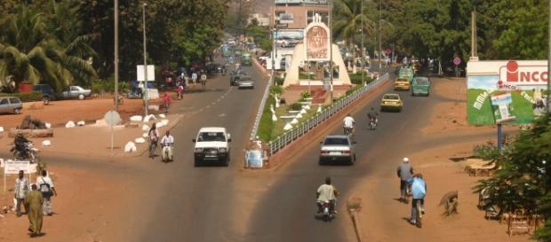 Imagen del centro de Bamako, capital de Mali.