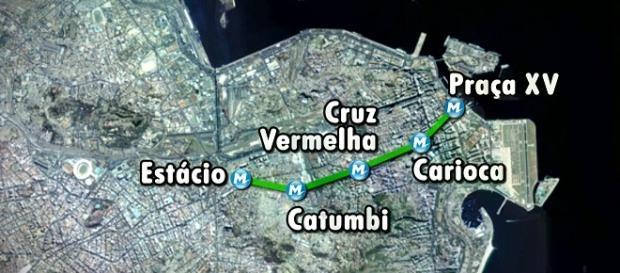 Linha 2 vai ganhar 3 estações e reforma da Carioca