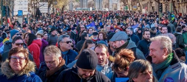 Marcha a favor de la Memoria Histórica