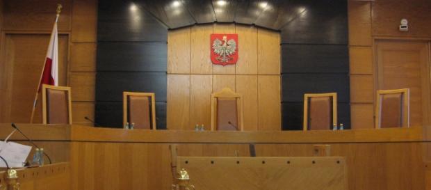 Sala rozpraw w Trybunale Konstytucyjnym