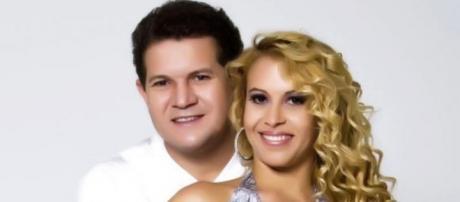 Joelma e Chimbinha após o fim do casamento