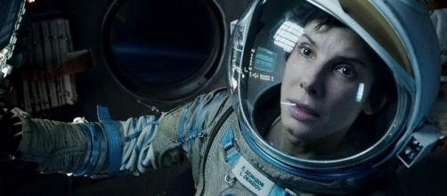 La actriz Sandra Bullock en 'Gravity'