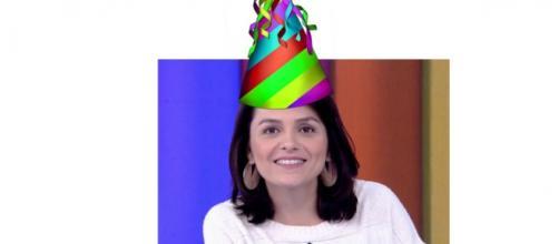 Monica Iozzi comemora seu aniversário