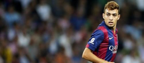 Munir, giovane stella del Barcellona.