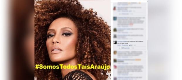 Após racismo, Taís Araújo vai à Polícia Federal