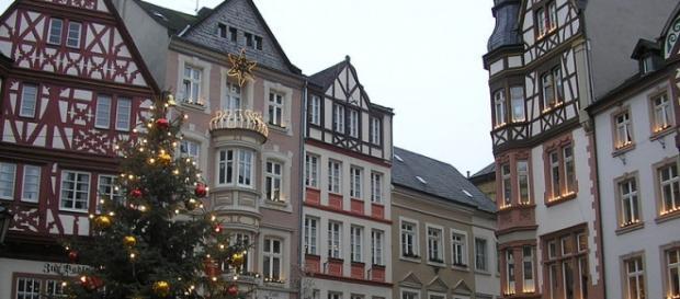 Fotograía de un bonito pueblo de Alemania