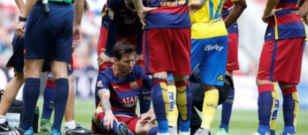 Leo Messi kontuzjowany - zdąży na Gran Derbi?