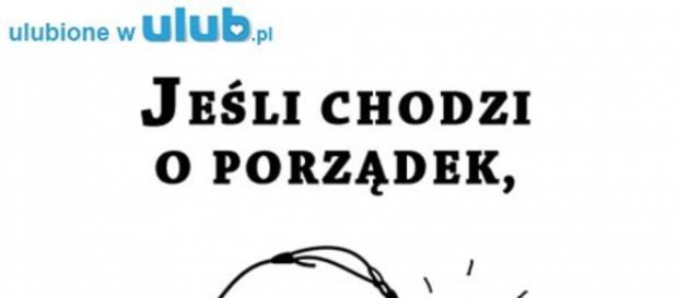 Porządek musi być po polsku - ulub.pl