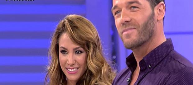 Steisy y Leo, juntos durante el programa MYHYV