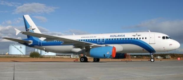 Un aereo della compagnia russa Kolavia.