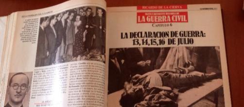 Historia de la Guerra Civil según De La Cierva.
