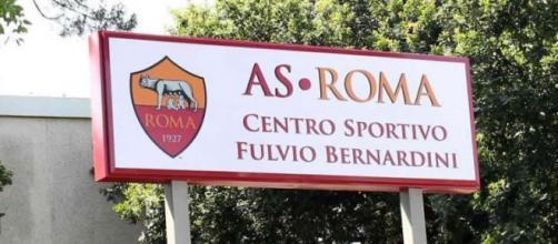 Il centro sportivo, scenario della contestazione.