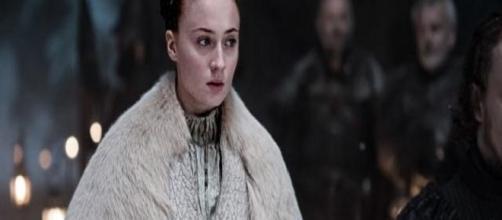 Sansa Stark en un fotograma de 'Juego de Tronos'
