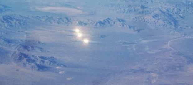 Immagine di archivio, ritraente ufo