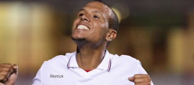 Luis Fabiano fez uns dos gols do tricolor.