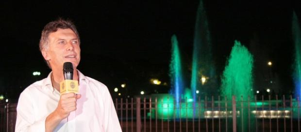 Mauricio Macri, candidato por la alianza Cambiemos