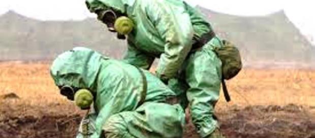 Ryzyko użycia broni chemicznej i bilogicznej