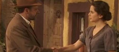 Il Segreto: Raimundo incontra Luisa
