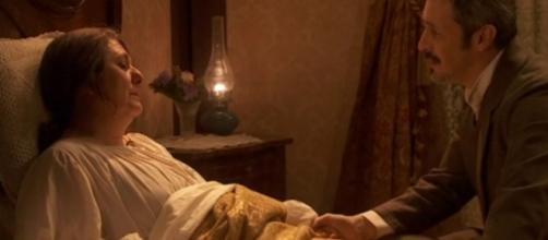 Il Segreto: Rosario e Emilia in fin di vita