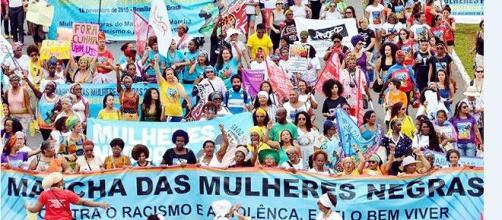 Marcha das mulheres negras em Brasília