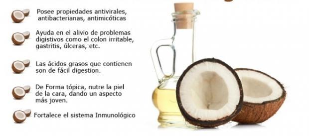 Beneficios del aceite de coco para el organismo