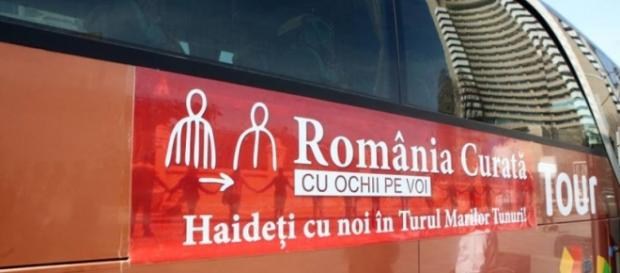 Turul marilor tunuri România Curată