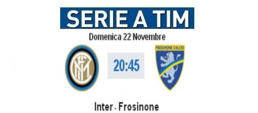 Inter - Frosinone in diretta live