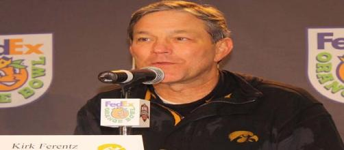 Iowa football coach Kirk Ferentz is up for award.