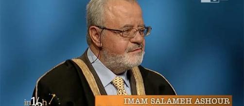 L'Imam Salameh Ashour, Com. Palestinese di Roma
