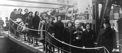 Llegada de refugiados judíos a Londres