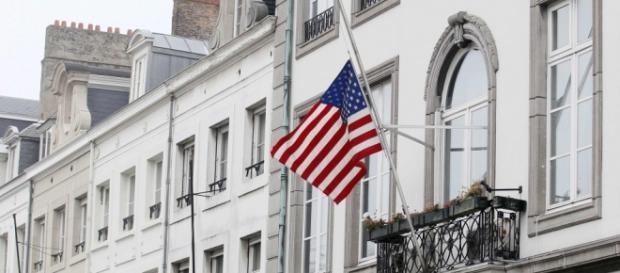 Embaixada dos Estados Unidos em Bruxelas.