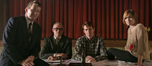 """Gli attori del film danese """"The idealist""""."""