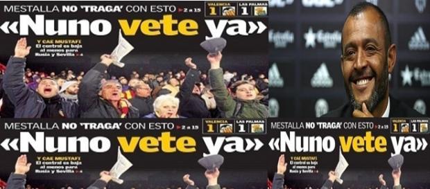 Mestalla le pide que se vaya del valencia cf