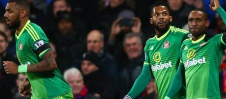 Miracle Defoe goal gives Black Cats three points.