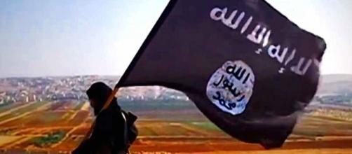Bandeira do grupo terrorista Estado Islâmico.
